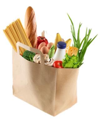 Loving Food Resources bag of Food