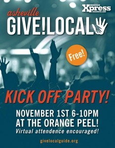 Give!Local Kickoff Party at the Orange Peel