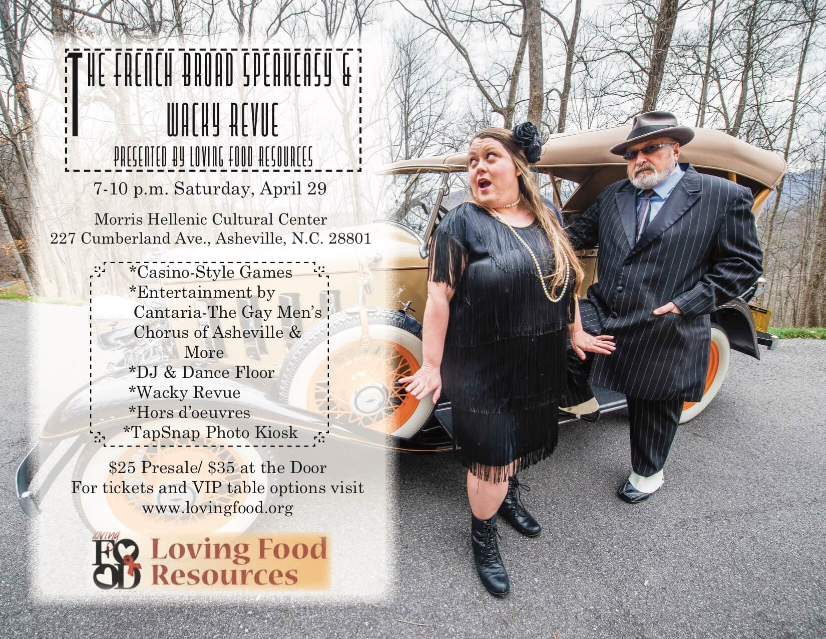 French Broad Speakeasy and Wacky Revue