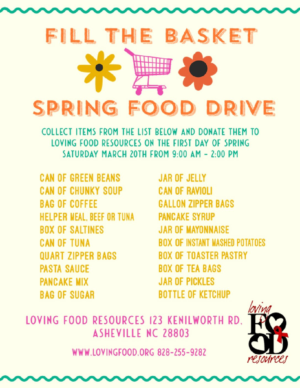 Spring Food Drive